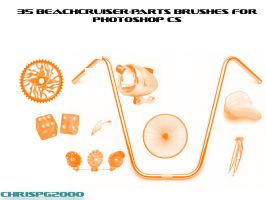beachcruiser-parts brushes by chrispg2000