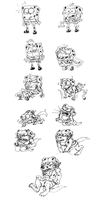 SpongeWolf complete TF Sequence by wolfmarian