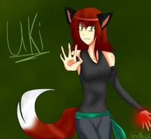 Uki - OC (( New )) by FeeX123