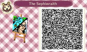 The Sephiwraith Logo (Animal Crossing: NL QR Code) by sephiroth1204