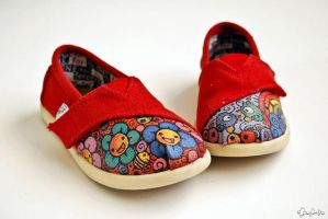 Little Custom Toms by eggay