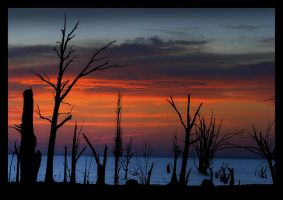 Death sunset by GonBo