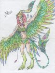124) Harpy :D by Magicull-Delesia