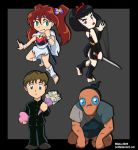 Neglected Inuyasha Characters. by Caliosidhe