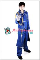 Fullmetal Alchemist Roy Mustang Cosplay Costume by miccostumes