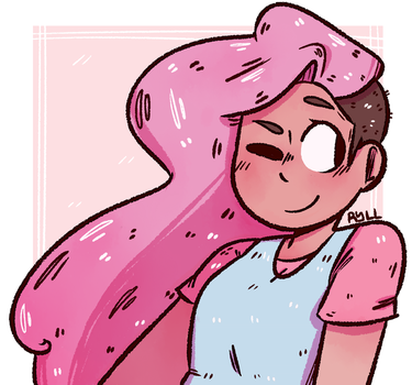 Stevonnie Doodle by ryllcat21