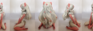 My 4th order production - Figurine of Peony by Rossciutto
