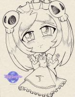Inked Chibi Marie by KSapphire8989