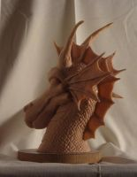 My Dragon side view by triangle-sunrise