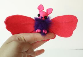 Micro Monster Pink and Purple Batterfly - For Sale by superayaa