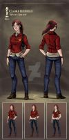 CODE: Kronos - Claire Redfield by vickie-believe