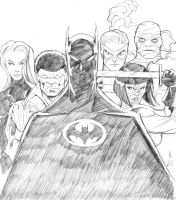 Batman and the Outsiders by guinnessyde