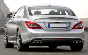 2012 Mercedes-Benz CLS63 AMG by GTStudio