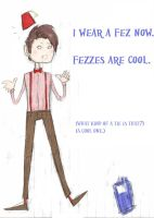 eleven - fezzes are cool. by Biokun