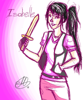Request: Isobelle by Mariana-S