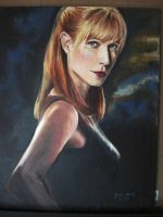 Pepper Potts by hackapaint
