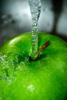 Apple Splash II by LDFranklin