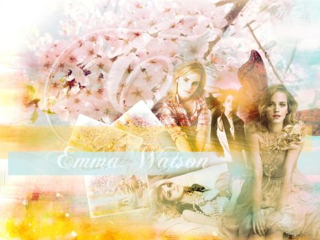 Emma Watson Wallpaper by lnx03