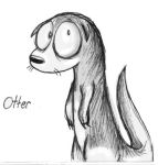 Otter by Comickpro