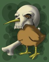 Skull Kiwi by Cannibal-Cartoonist