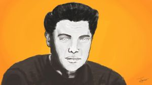 elvis before color by james3