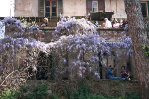 People of Wisteria Farmhouse by Lochrann