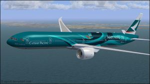 B777-9X Cathay Pacific (Asia's world city) Repaint by agnott