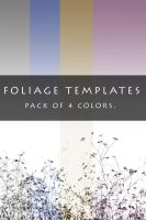Foliage Templates by sd-stock