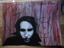 Marilyn Manson Leave a Scar by Acidic-Destruction