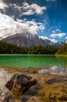 Cavell Lake by voogac
