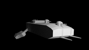 KR - The Uturro Class Frigate - WIP by Aripup