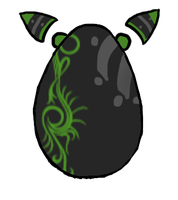 Mystery Egg: 1 -ADOPTED- by PeculiarAdopts