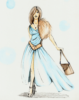 Fashion Illustration :Gift: by Missvirginia