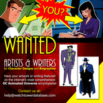 WANTED - Artists and Writers for DCAU Fan-site! by JTSEntertainment
