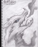 The Sketch-Book - page7: Reshiram by MicoNutziri