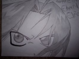 Glare of Edward Elric by Stars-of-Shooting