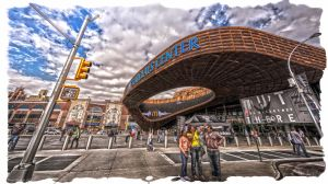 BARCLAYS CENTER by Tomoji-ized
