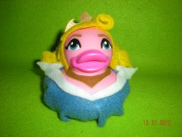 Sleeping Beauty Rubber Duck by Oriana-X-Myst