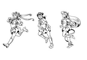 sailor scouts 1 by Kellhound1365