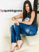 Lorena in Jeans by SpankingJeans