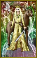 Thranduil (Elf Dress-Up) by TeodoraLaessa