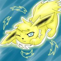 Jolteon for thegamemaster27 by ShushiKitty