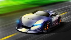 Audi Concept II by LovesTheMuffin