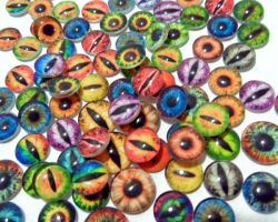 Glass Eye Cabochons for Jewelry by Create-A-Pendant