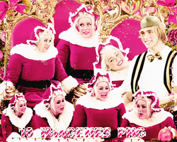 Pack png 147 Miley Cyrus navidad by MichelyResources