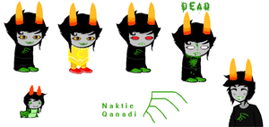 Fan troll OC Naktie Qanadi OUTDATED NEW INFO BELOW by RemiliaSweetheart