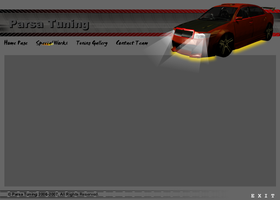 Car Tuning Website Design by masoudhaghi