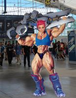 Zarya at SDCC by acidrain101