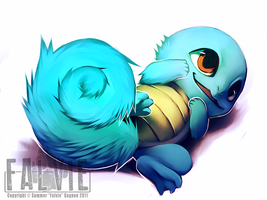 Squirtle by falvie