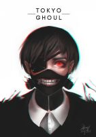 Tokyo Ghoul by kittysophie
